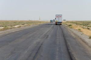 Highway Ashgabat - Mary