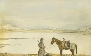 Lake Zorkul, 1874