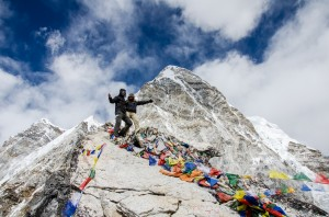 Top of Kala Patthar (5.545m)