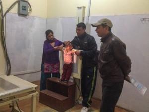 Röntgen auf Nepalesisch